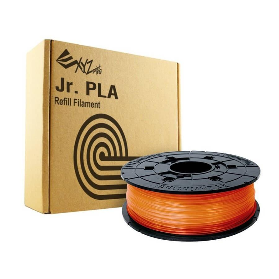 Refill 3D printer XYZprinting - PLA (NFC) filament, 1.75 mm, TANGERINE