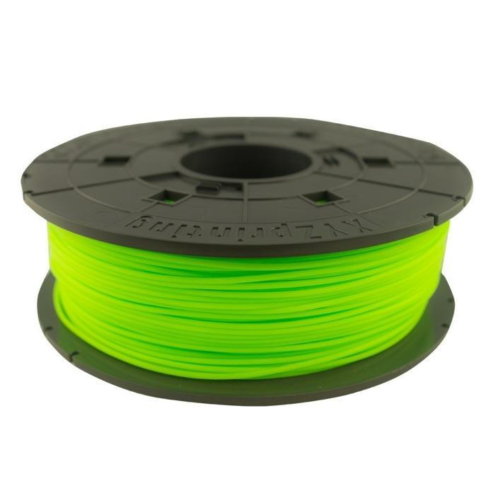 Refill 3D printer XYZprinting - PLA (NFC) filament, 1.75 mm, NEON GREEN