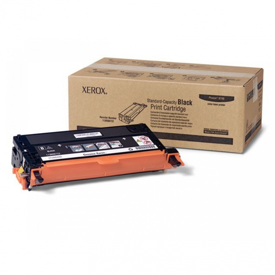 Xerox Phaser 6180 Black standard capacity print cartridge