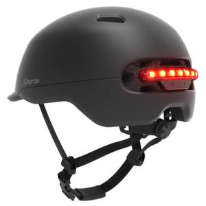 Xiaomi - Каска Smart4u City riding smart flash helmet M black