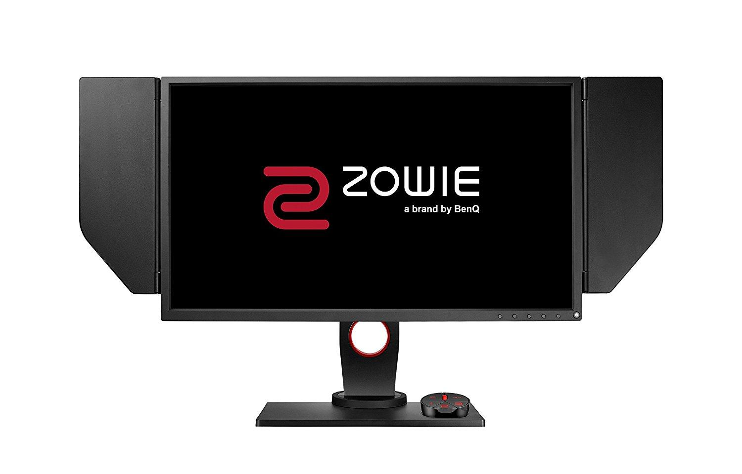 Монитор ZOWIE XL2546 240Hz DyAc™, TN, 24.5 inch, Wide, Full HD, DP, DVI-DL, HDMI, Черен