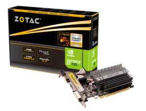 Видео карта ZOTAC GeForce GT 730 ZONE Edition, Low