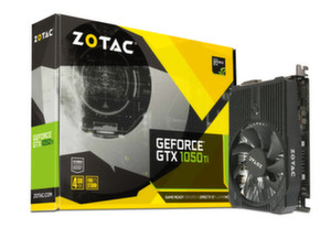 Видео карта ZOTAC GeForce GTX 1050 Ti Mini 128bit