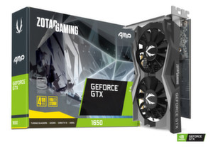 Видео карта ZOTAC GAMING GeForce GTX 1650 AMP Edition