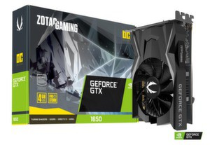 Видео карта ZOTAC GAMING GeForce GTX 1650 OC