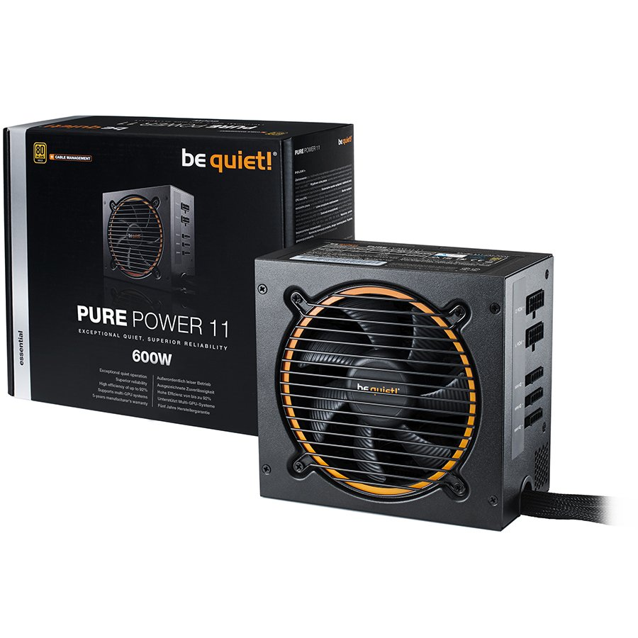 be quiet! PURE POWER 11 600W - 80 Plus Gold-2-2-2