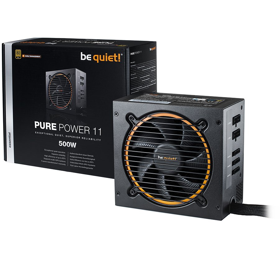 be quiet! PURE POWER 11 500W - 80 Plus Gold-2-2-2