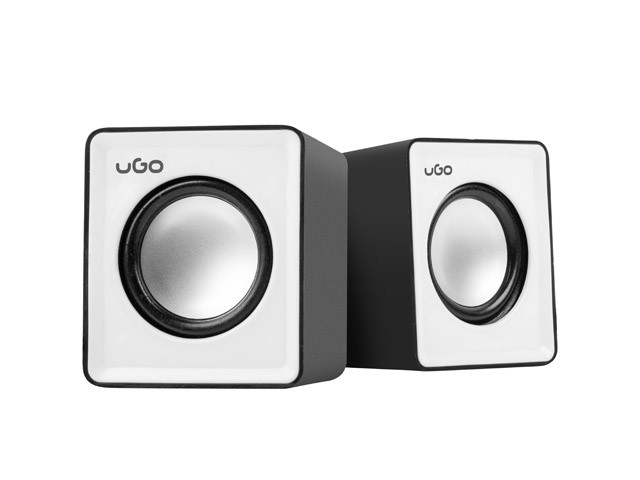 uGo Speakers 2.0 office 6W RMS Black-white-2-2-2