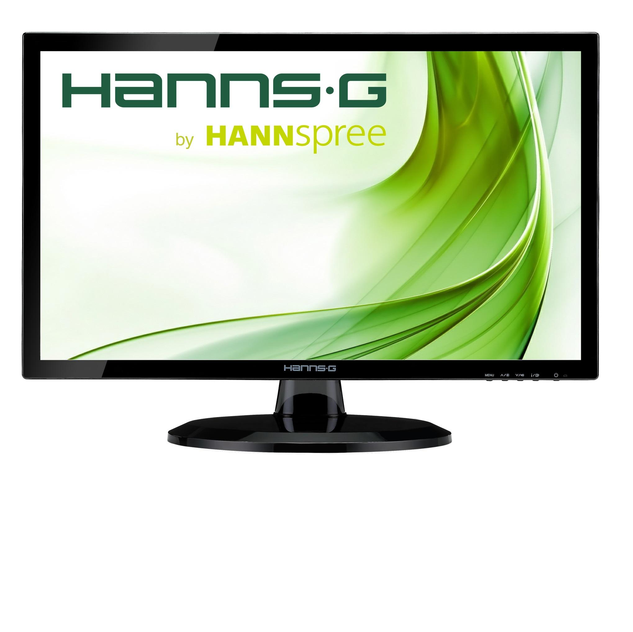 Monitor HANNSPREE HE247DPB ,IPS, 23.6 inch, Wide, Full HD, D-Sub, DVI-D, Black