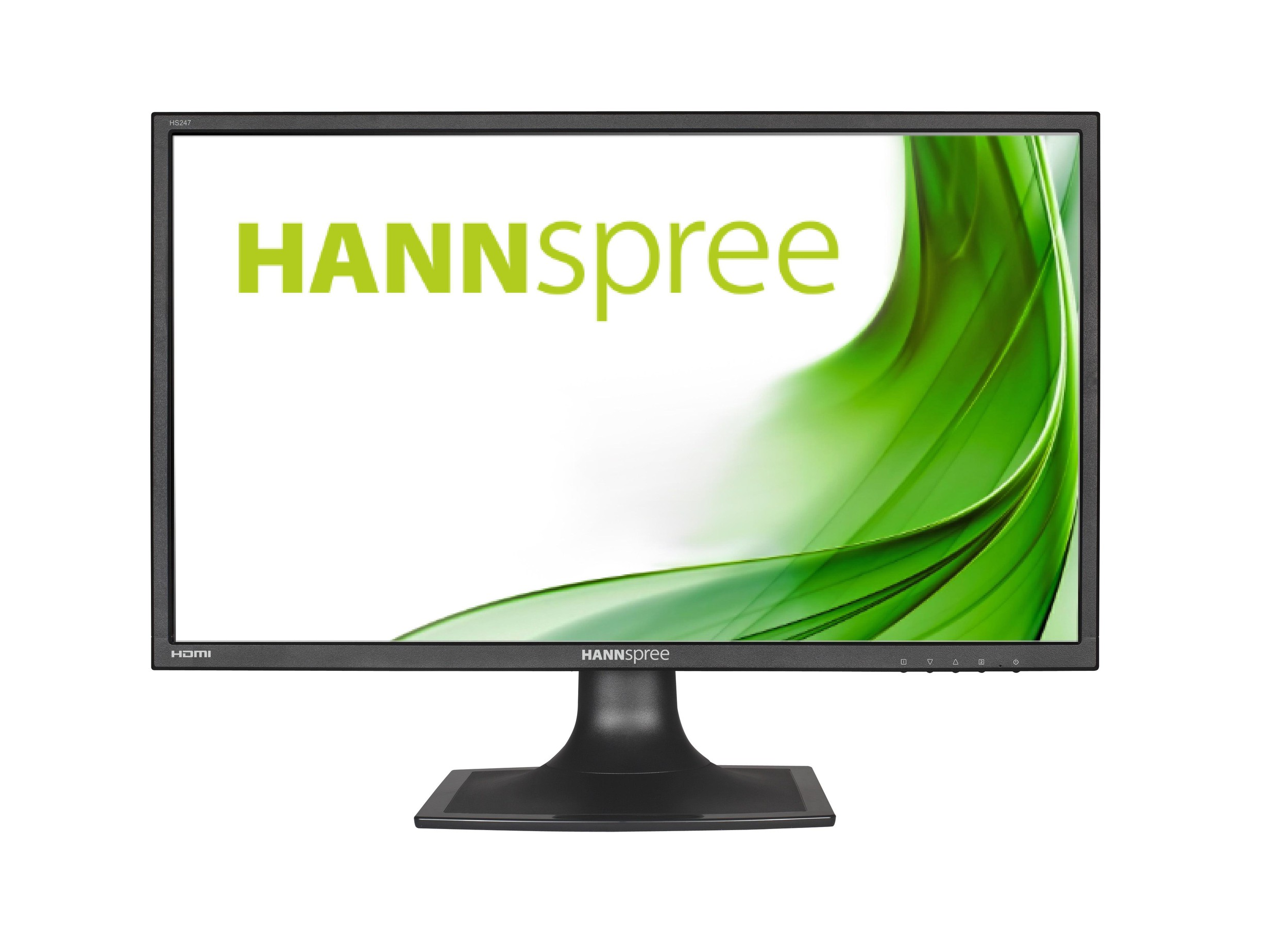 Монитор HANNSPREE HS247HPV, IPS, 23.6 inch, Wide, Full HD, D-Sub, DVI-D, HDMI, Черен