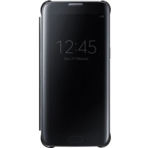 Samsung Galaxy S7 edge, Clear View Cover, Black