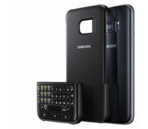 Samsung Galaxy S7 edge, Keyboard cover, Black