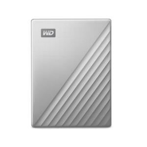 HDD 2TB USB-C MyPassport Ultra Silver 3 years warranty