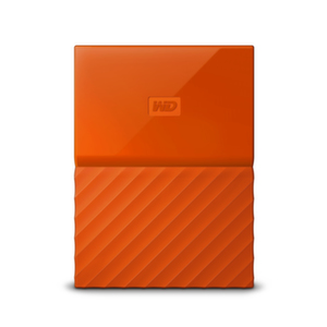 HDD 2TB USB 3.0 MyPassport THIN Orange 3 years